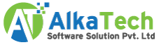 AlkaTech Software Solution Pvt Ltd - Logo Design company logo