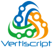 Vertiscript - Testing company logo