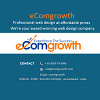 eComgrowth Solution - Content Management System company logo
