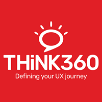 Think 360 UI UX Design Studio - Web Development company logo