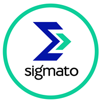 Sigmato Solutions Pvt Ltd - Logo Design company logo