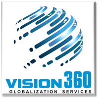 Vision360 Globalization Services Pvt Ltd. - Logo Design company logo