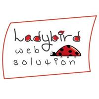 Ladybird Web Solution Pvt Ltd - Logo Design company logo