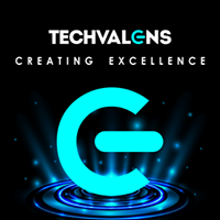 Techvalens Software Systems Pvt Ltd - Creating Excellence - Mobile App company logo