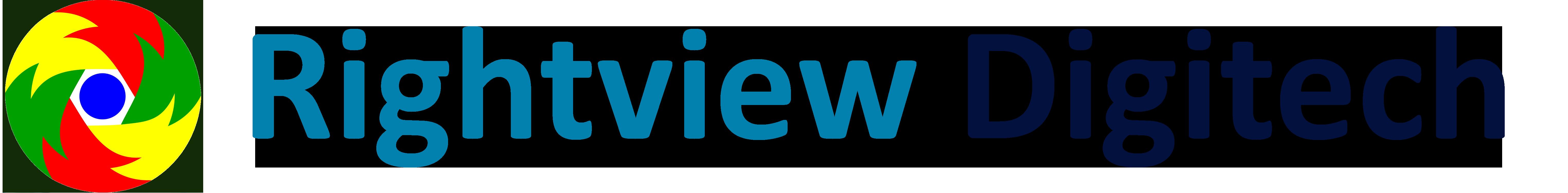 Rightview Digitech Pvt Ltd - Digital Marketing company logo