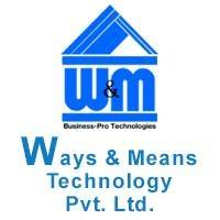 Ways and Means Technology Pvt. Ltd. - Business Intelligence company logo